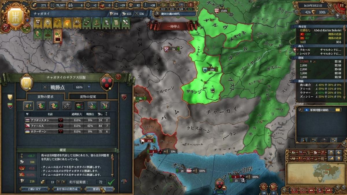 第三次ティムール戦和平