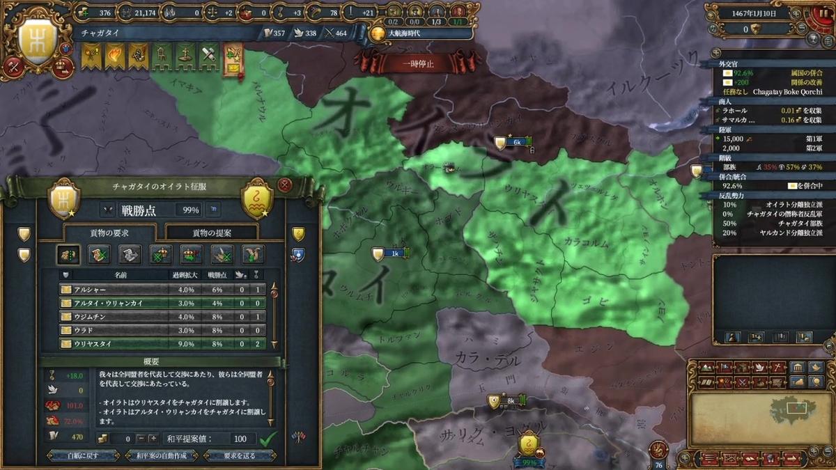 オイラト戦二回目和平
