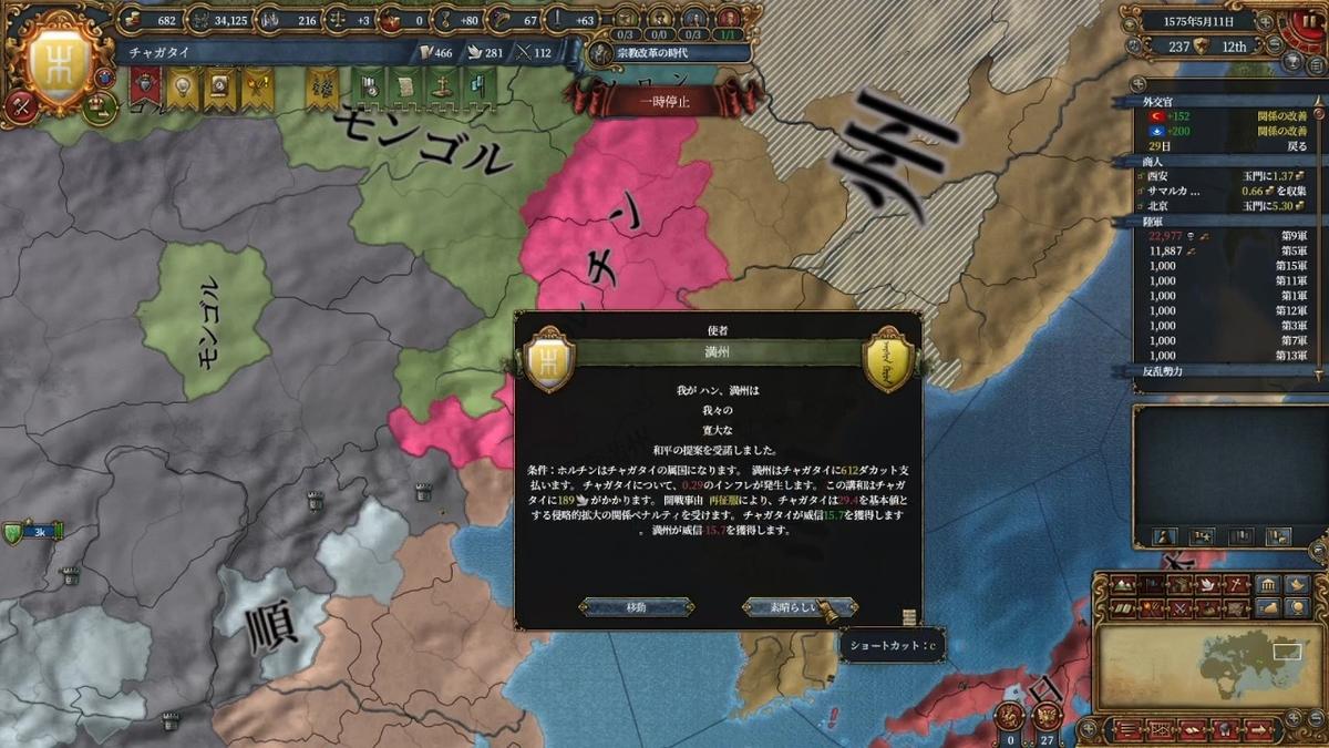 満州戦和平