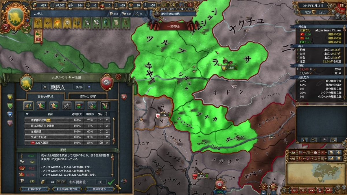 アッサム戦和平