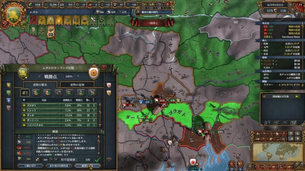 オリッサ戦和平