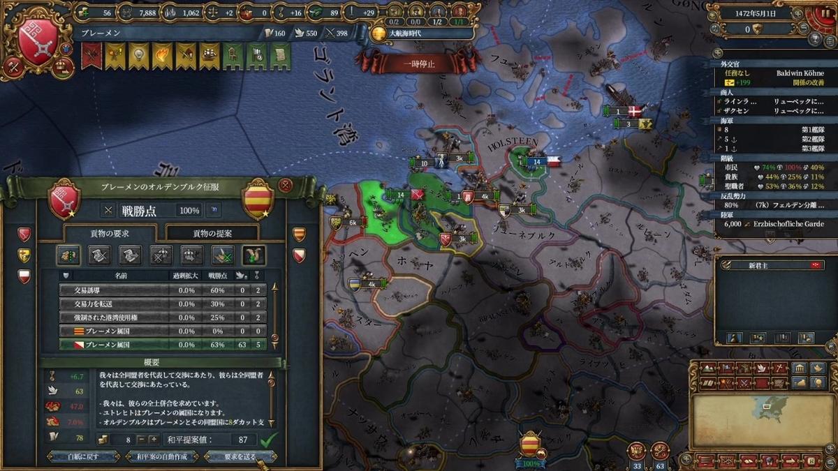 オルデンブルク戦和平