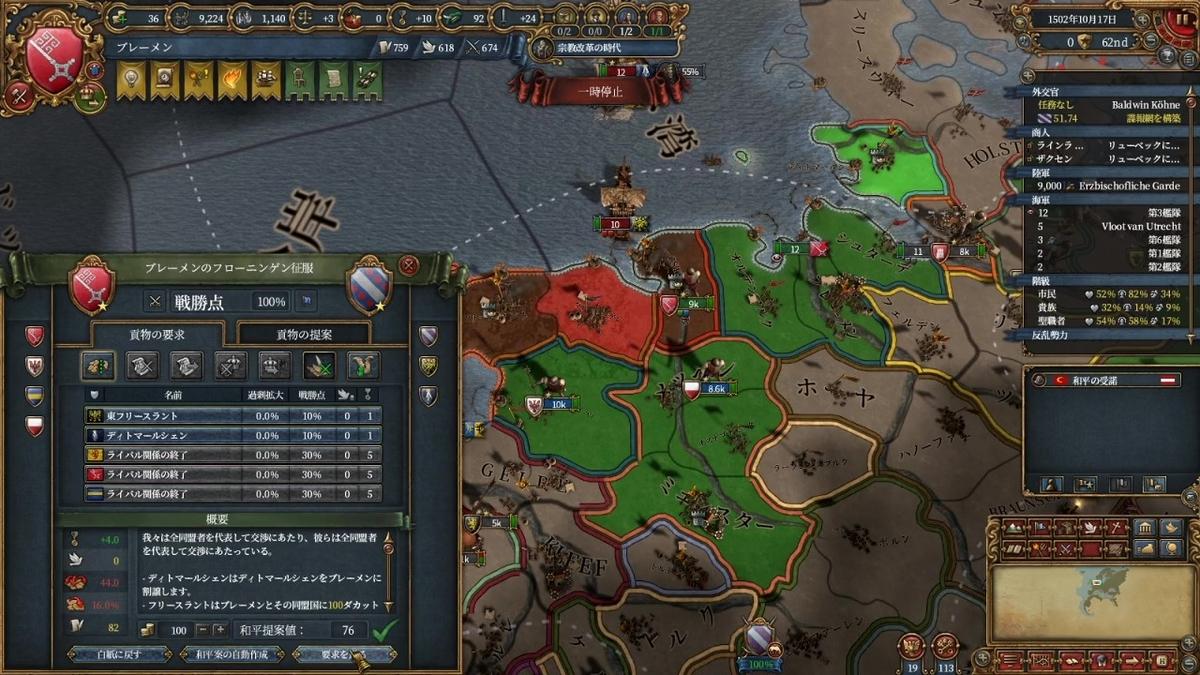 フリースラント戦和平