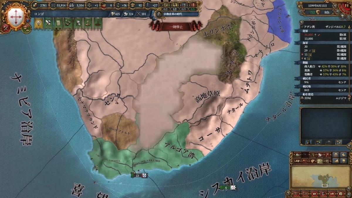 南アフリカの状況