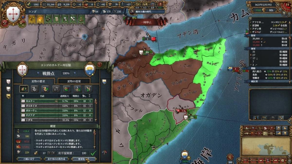ワルサンガリ戦和平