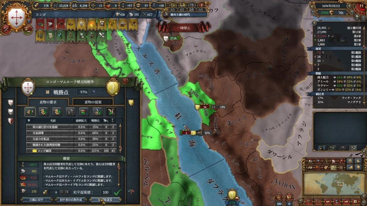 マムルーク戦和平