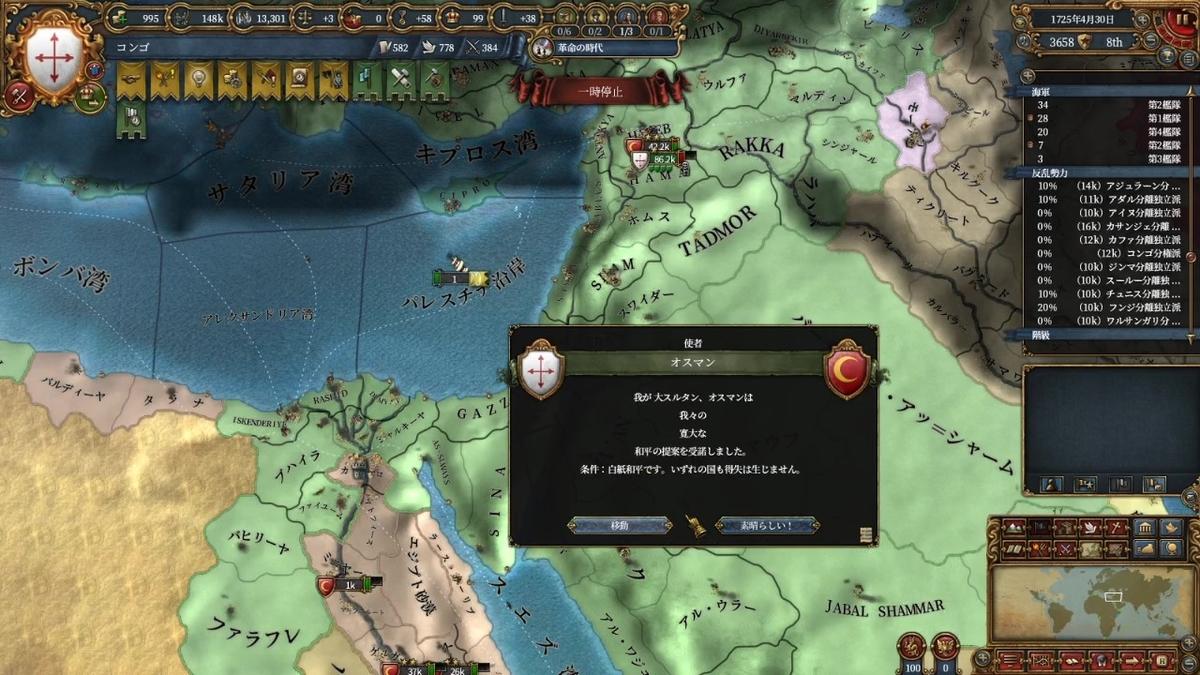 オスマン戦和平