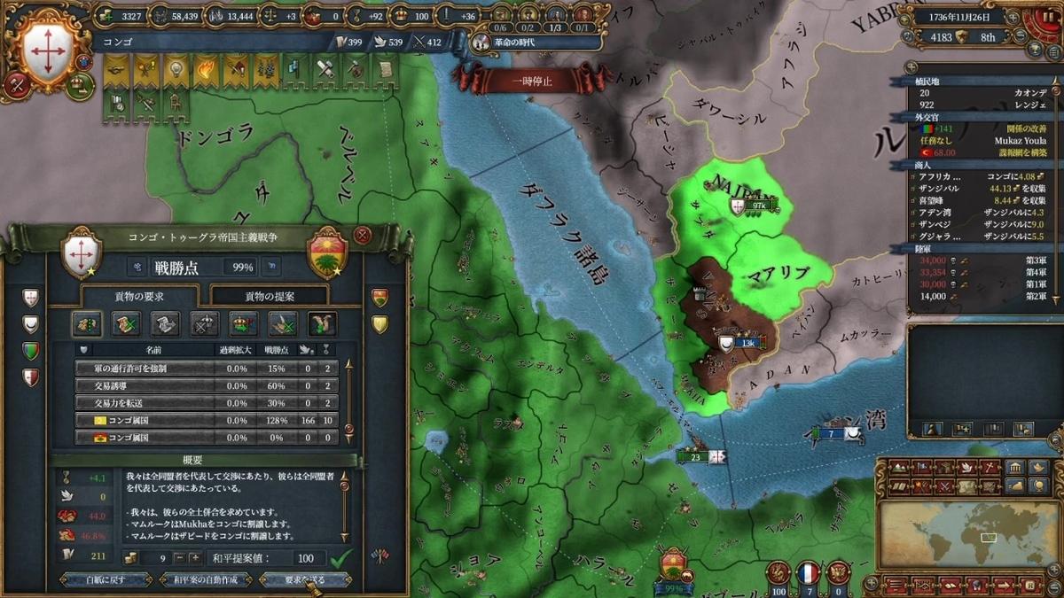 トゥーグラ・マムルークとの和平