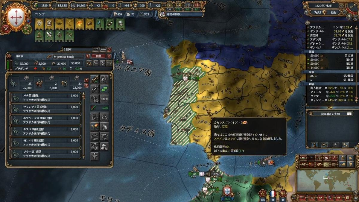 ポルトガル本土全占領