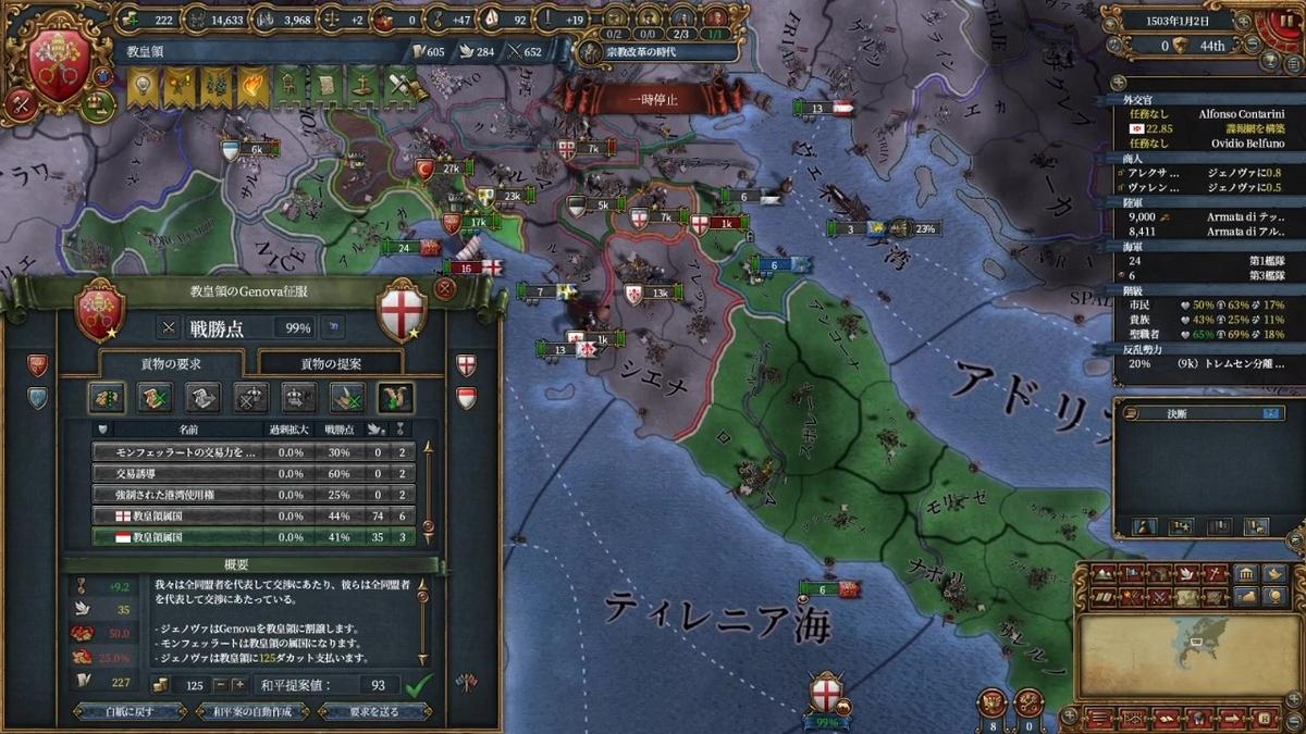 ジェノヴァ戦和平