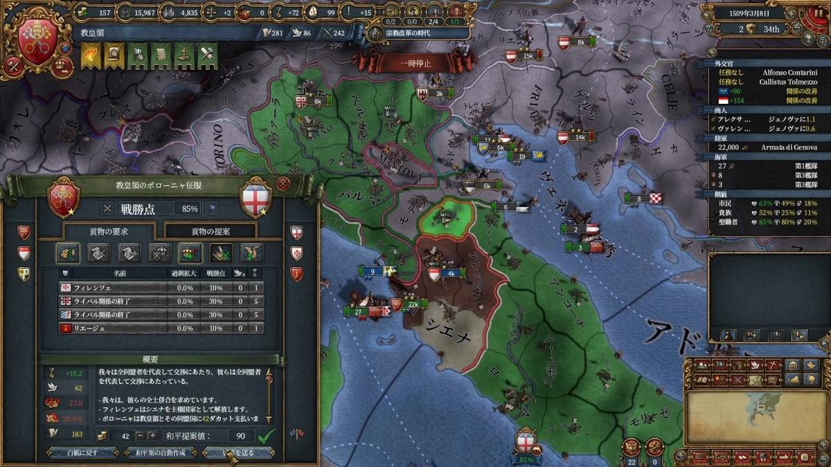 ボローニャ戦和平