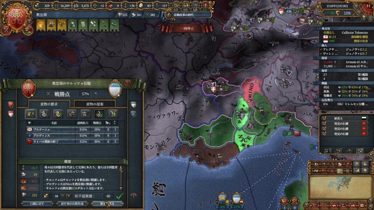 サルッツォ戦和平