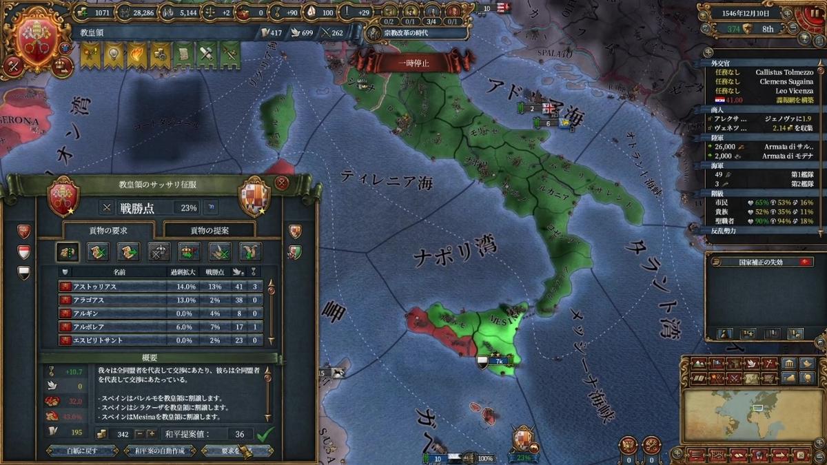 第一次スペイン戦和平