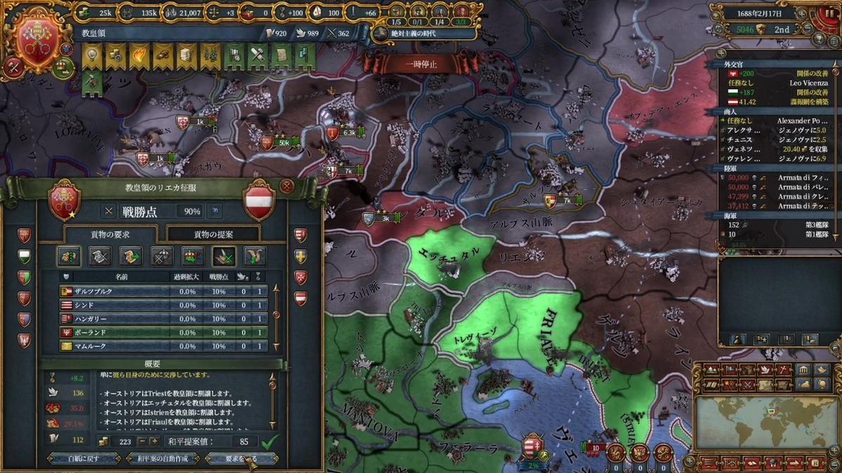 オーストリアとの単独和平