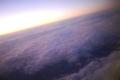 [空路][夕]雲海
