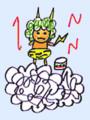[イラスト][ムラタメグミ][村田めぐみ][メロン記念日][ハロプロ]かみなり様