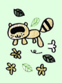 [イラスト][ムラタメグミ][村田めぐみ][メロン記念日][ハロプロ]たぬきポンポコ