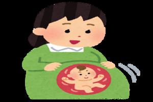 子授けジンクスで縁起を担ぐために妊娠中のママ友のお腹を触ったら胎動があった