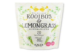 妊活におすすめ。カルディオリジナルのレモングラス入りルイボスティー。