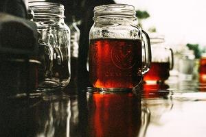 温めた赤ワインをルイボスティーで割ったホットワインルイボスティーは、妊活でリセットした(生理がきた)ときにおすすめ。