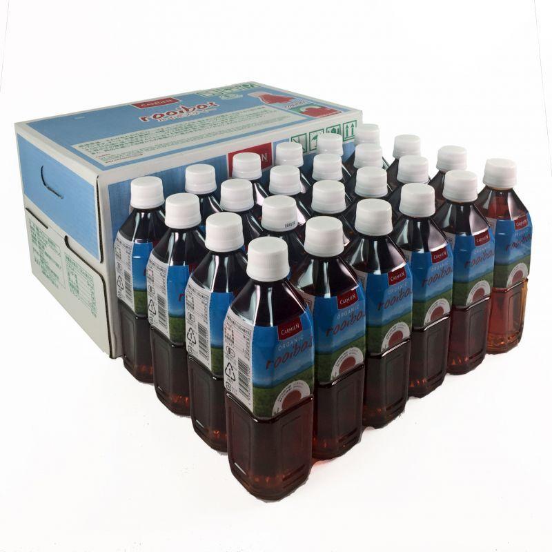 コストコで買えるカーミエンのルイボスティー。お店によって価格の変動はあるものの、他のペットボトルのルイボスティーに比べて激安。たくさん飲む妊活中におすすめ。