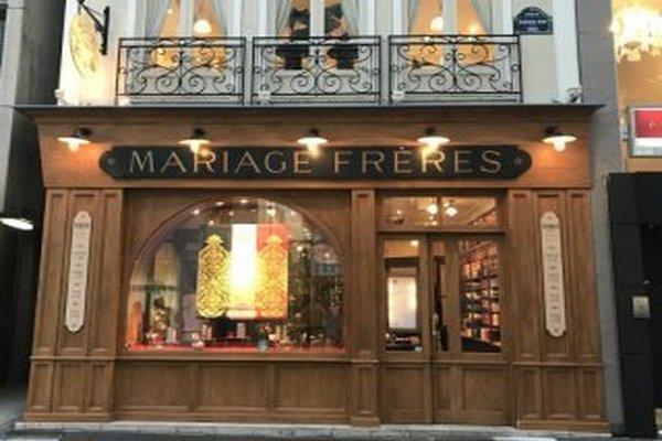 マリアージュフレール銀座本店。妊活中の女性へプレゼント用としてルイボスティーを銀座で買いたいときにおすすめ。