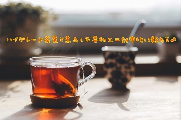 ルイボスティーは煮出さなくても意味がないと言われるが、最も濃く成分が出るハイグレードなルイボスティー茶葉+煮出し不要の特殊加工=妊活に効果的なルイボスティーが簡単に飲める♪
