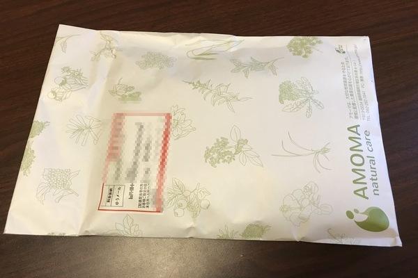 Amomaのグリーンルイボスティーがゆうメールで届いた。