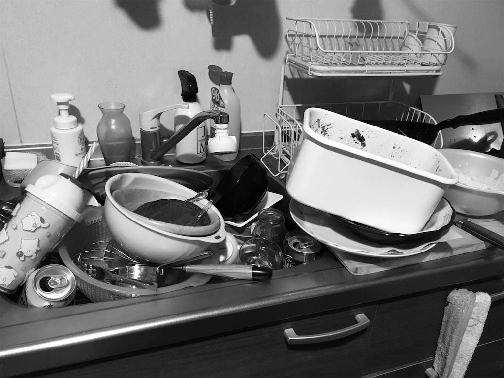 汚い台所。二日酔いでアフィリエイトが継続できない。わたしが続けてるコツを教えます。