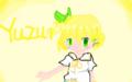 柚子描いてみたけどマウスだから下手なのだよ1時間かかったよ勘弁し