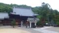 【旅01】金泉寺の本堂。実物より写真のほうが雰囲気あるかも?