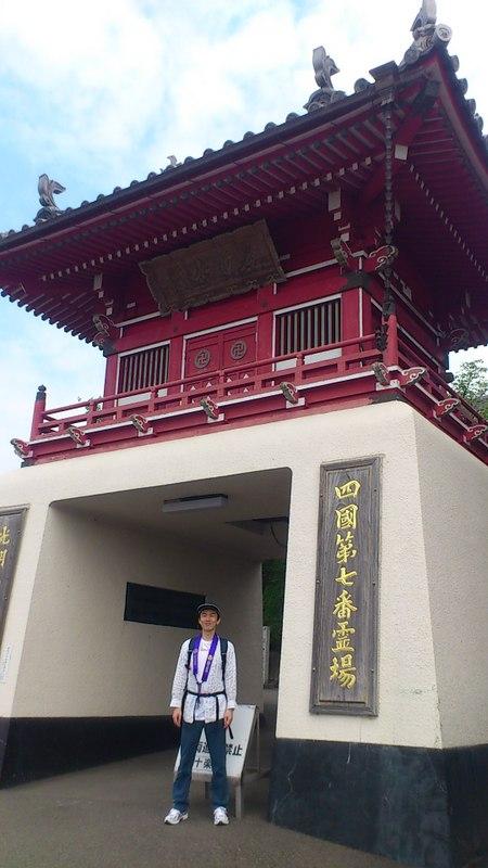 【旅01】七番札所は十楽寺。朝はお遍路さんが多い