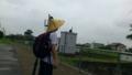 【旅03】スタートのJR府中駅(徳島)天気もココロも不安のスタート・