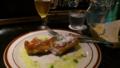 【旅03】こちらはモッツァレラチーズのカツレツ。こってり美味。