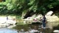 【旅04】夏休みの思い出・川遊び。今回は写真少なくてすみません。^_^;