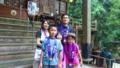 【旅04】21番・太龍寺にて。年賀状に使う写真みたいな。