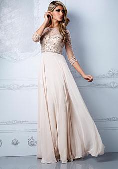 Natural Waist Prom Dress