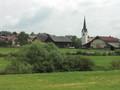 スロベニア郊外の村