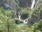 プリトヴィチェ川の滝