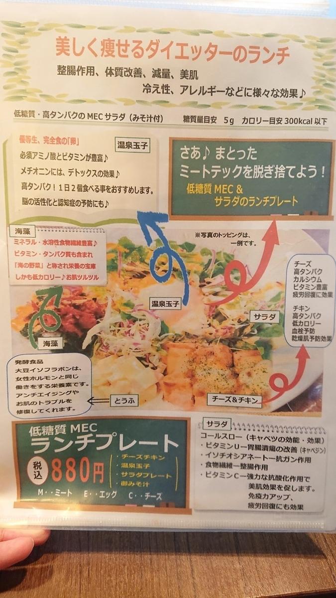 糖質off食堂 肉バル 医食同源研究所2
