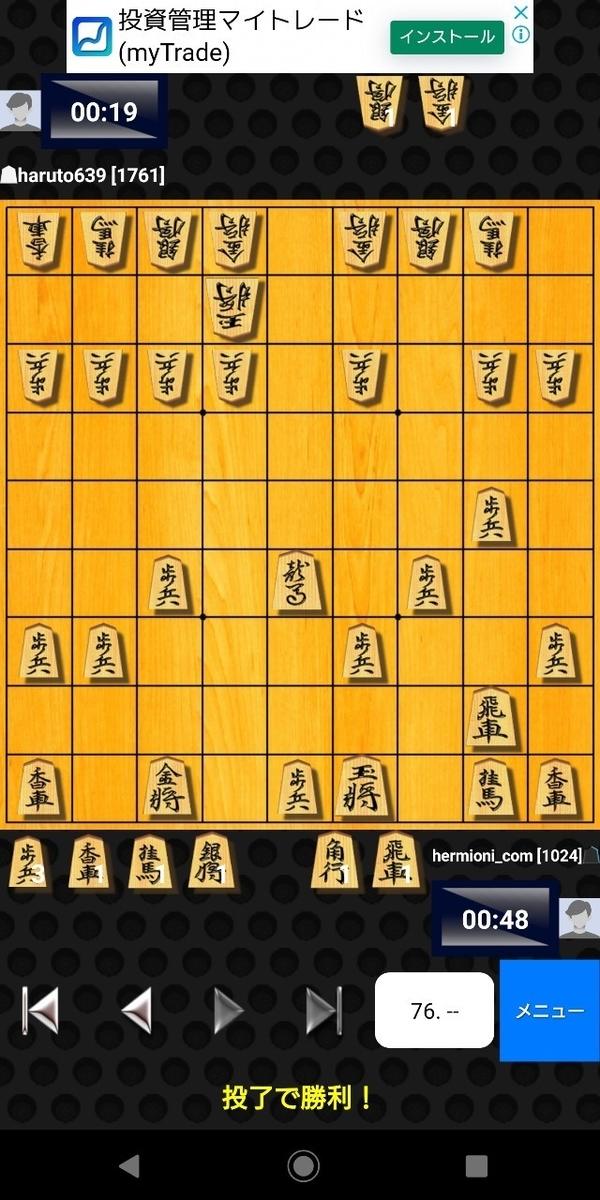 将棋クエストの大会に参加した結果!【2分将棋大会】8