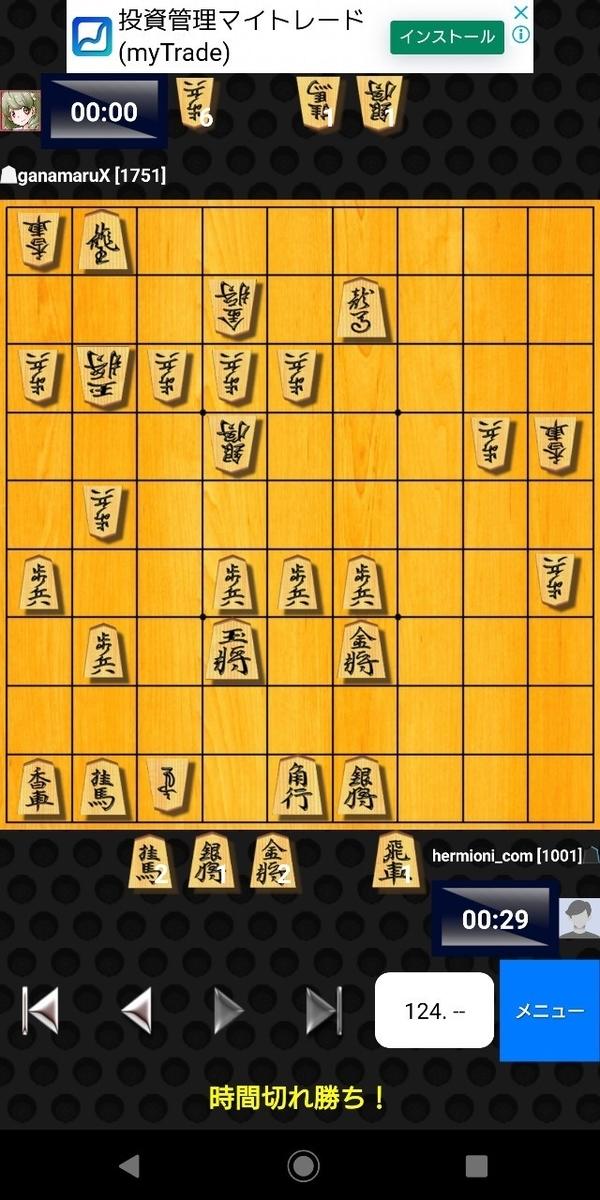 将棋クエストの大会に参加した結果!【2分将棋大会】9