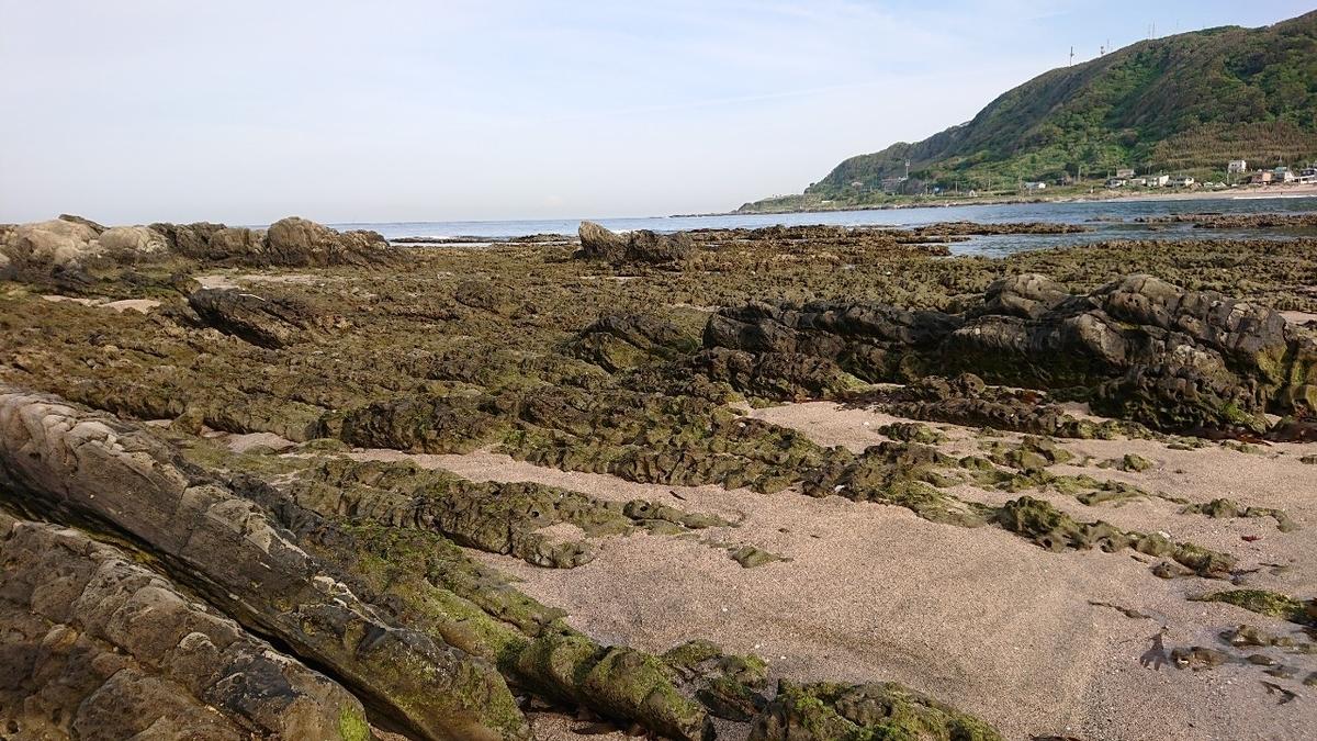 白浜根本海岸の屏風岩