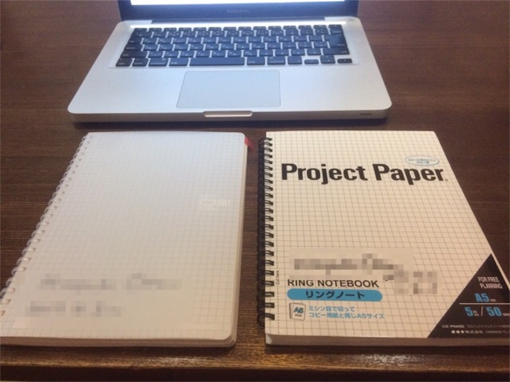 コクヨソフトリングとオキナプロジェクトペーパー