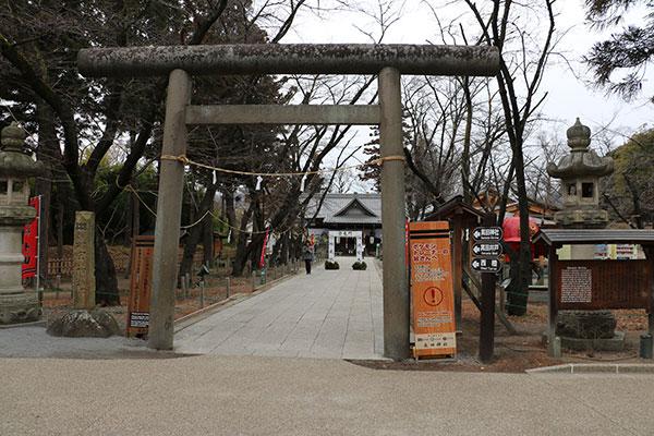 真田神社鳥居