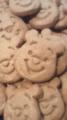 プーさんクッキー作成中