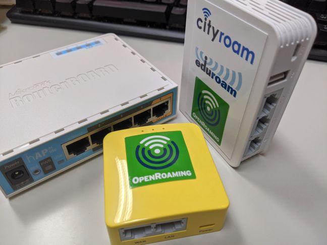 Mobile eduroam/Cityroam/OpenRoaming routers