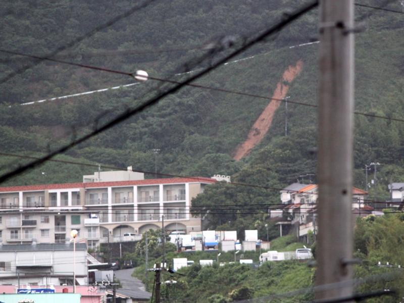 神戸市垂水区の土砂崩れ