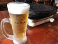 ビールとサムギョプサル