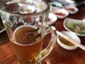 サムギョプサルとビール